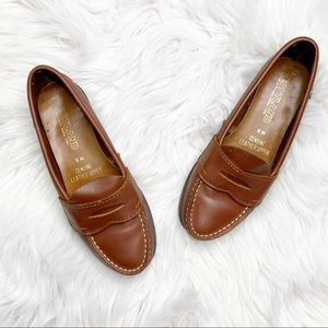 Eastland Classic Brown Leather Penny Loafers